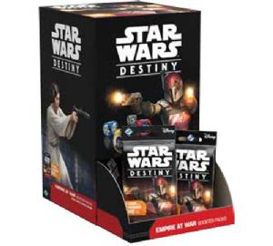 Star Wars: Destiny - Empire at War Booster Display